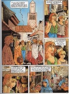 Extrait de Mauvaise graine -3- Les portes de Marrakech