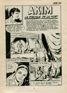 Extrait de Akim (1re série) -526- La pirogue de la mort