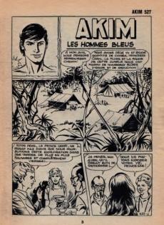 Extrait de Akim (1re série) -527- Les hommes bleus