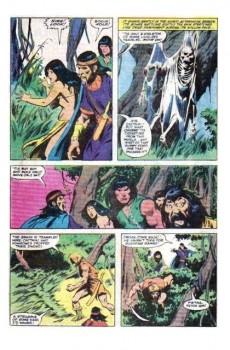 Extrait de Conan the Barbarian Vol 1 (Marvel - 1970) -140- Spider isle