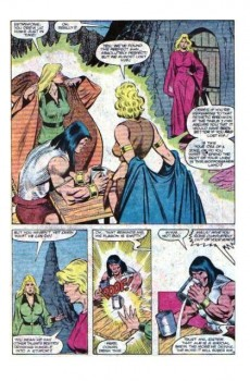 Extrait de Conan the Barbarian Vol 1 (Marvel - 1970) -146- Night of the three sisters!