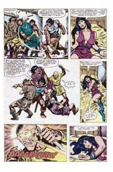 Extrait de Conan the Barbarian Vol 1 (Marvel - 1970) -150- Tower of flame!