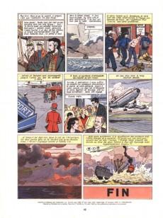 Extrait de Lefranc -6a1983- Opération Thor