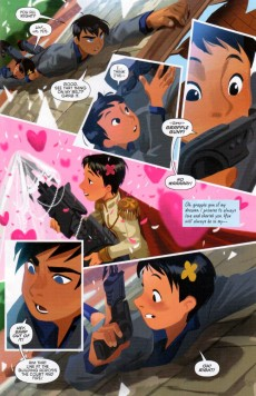 Extrait de Gotham Academy (2014) -7- Curse of the Inishtree Quill