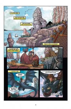 Extrait de Dragons (DreamWorks) -2- La menace des profondeurs