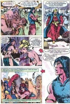 Extrait de Conan the Barbarian Vol 1 (Marvel - 1970) -155- The anger of Conan