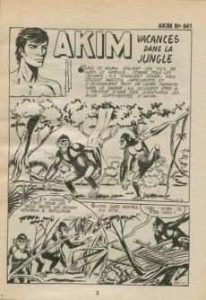 Extrait de Akim (1re série) -641- Vacances dans la jungle