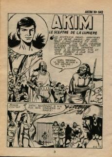 Extrait de Akim (1re série) -642- Le sceptre de la lumière