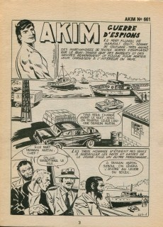 Extrait de Akim (1re série) -661- Guerre d'espions