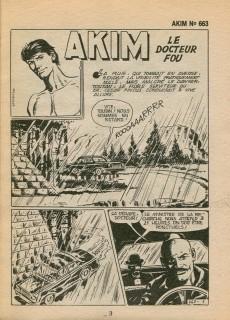 Extrait de Akim (1re série) -663- Le docteur fou