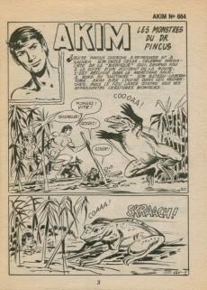 Extrait de Akim (1re série) -664- Les monstres du Dr. Pincus