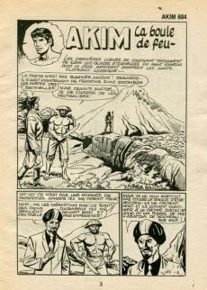 Extrait de Akim (1re série) -684- La boule de feu