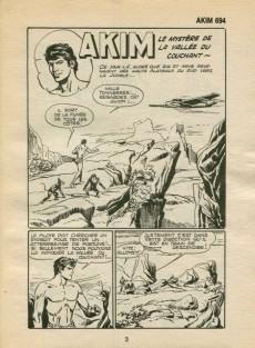 Extrait de Akim (1re série) -694- Le mystère de la vallée du couchant