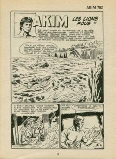 Extrait de Akim (1re série) -702- Les lions fous