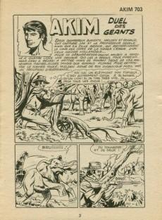 Extrait de Akim (1re série) -703- Duel des géants