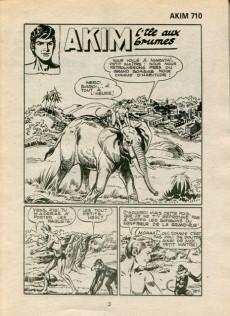 Extrait de Akim (1re série) -710- L'île aux brumes