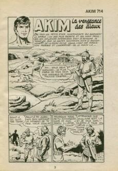 Extrait de Akim (1re série) -714- La vengeance des dieux