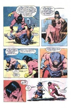 Extrait de Conan the Barbarian Vol 1 (Marvel - 1970) -159- Cauldron of the doomed!