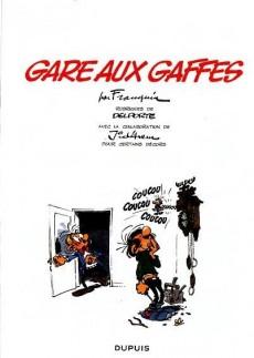 Extrait de Gaston (2009) -6Été2015- Gare aux gaffes