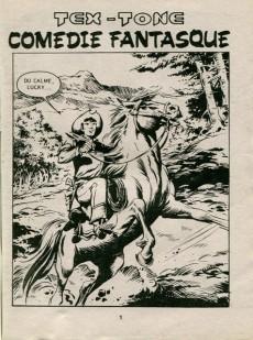 Extrait de Tex-Tone -486- Comédie fantasque