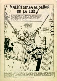 Extrait de Peter Parker: Spiderman -2- ¡...Y allí estaba el Señor de la Luz!
