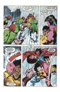 Extrait de Conan the Barbarian Vol 1 (Marvel - 1970) -176- Argos rain