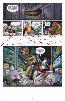 Extrait de Harley Quinn -1- Complètement marteau