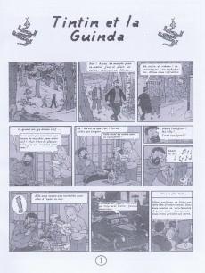 Extrait de Tintin - Pastiches, parodies & pirates -27a- Tintin et la Guinda