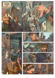 Extrait de Cuatro de Baker Street (Los) -1- La cinta azul. El asunto Raboukin.