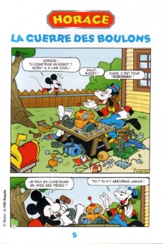 Extrait de Les héros de Mickeyville -4- Horace