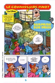 Extrait de Les héros de Mickeyville -7- Le Commissaire Finot