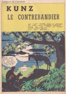 Extrait de Les héros de l'aventure (Classiques de l'aventure, Puis) -16- Le fantôme : Kunz le contrebandier