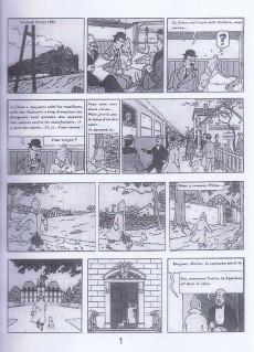 Extrait de Tintin - Pastiches, parodies & pirates - Tintin à Tien An Men