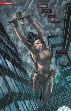 Extrait de Catwoman (DC Renaissance) -5- Course de Haut Vol