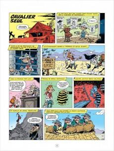 Extrait de Lucky Luke (Les aventures de) -5Pub- Cavalier seul