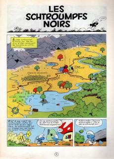 Extrait de Les schtroumpfs -1a65- Les schtroumpfs noirs