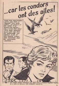 Extrait de Télé série bleue (Les hommes volants, Destination Danger, etc.) -6- Les hommes volants - Car les condors ont des ailes