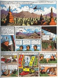 Extrait de Blake et Mortimer (Historique) -2d82- Le Secret de l'Espadon 2