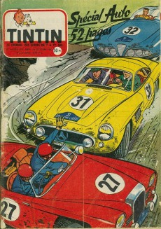 Extrait de (Recueil) Tintin (Album du journal - Édition française) -33- Tintin album du journal