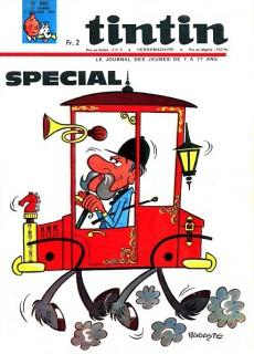 Extrait de (Recueil) Tintin (Album du journal - Édition française) -66- Tintin album du journal