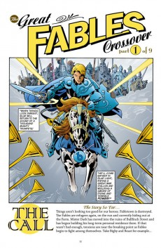 Extrait de Fables (2002) -INT13- The Great Fables Crossover