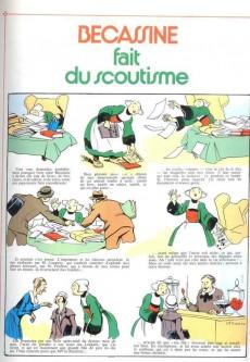 Extrait de Bécassine -17d1982- Bécassine fait du scoutisme