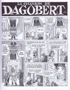 Extrait de La chanson de Dagobert