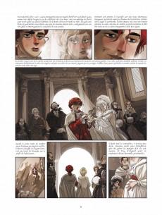 Extrait de La guerre des Sambre - Maxime & Constance -2- Chapitre 2 - Hiver 1781 : Le petit jour de la mariée