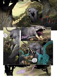 Extrait de Le feu et la roche -4- AvP Alien vs. Predator