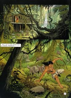 Extrait de Les indispensables de la Littérature en BD -FL10- Robinson Crusoé / Le livre de la jungle
