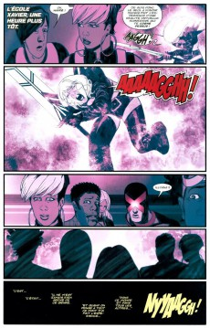 Extrait de Uncanny X-Men -2- Brisés