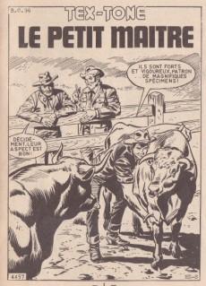 Extrait de Tex-Tone -289- Le petit maître