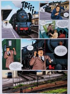 Extrait de La brigade du rail -3- Requiem chez les cheminots