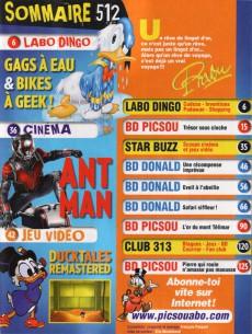 Extrait de Picsou Magazine -512- Picsou magazine n° 512